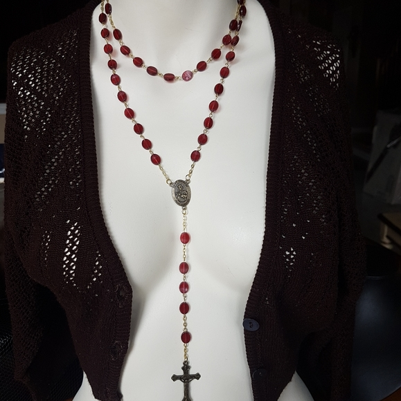 New Red Rosary